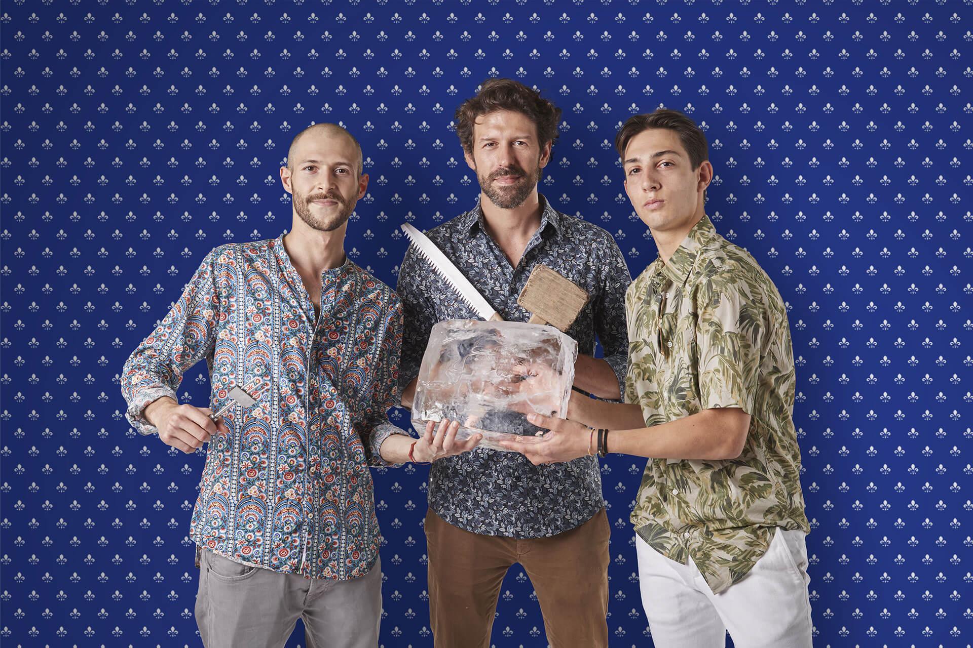 Matteo Di Ienno, Angelo Doneddu e Niccolò Bambi - Locale