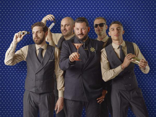 Luca Manni, Francesco Guetta, Enea Pappalardo, Roberto Sibilano e Davide Nasti