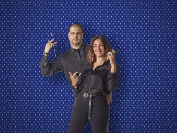 Nico Priori e Arianna Valeriani