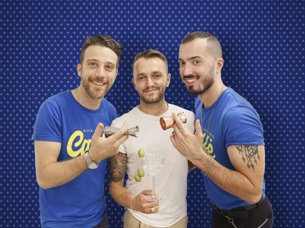 Ledion Prenga, Matteo Papini e Emanuele Ventura
