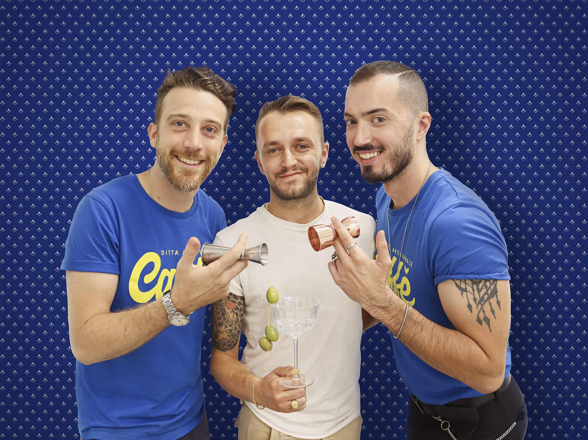 Ledion Prenga, Matteo Papini e Emanuele Ventura  - Ditta Artigianale Sant'Ambrogio