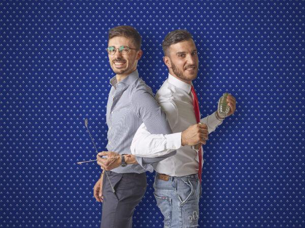 Marco Colonnelli e Vincenzo Civita