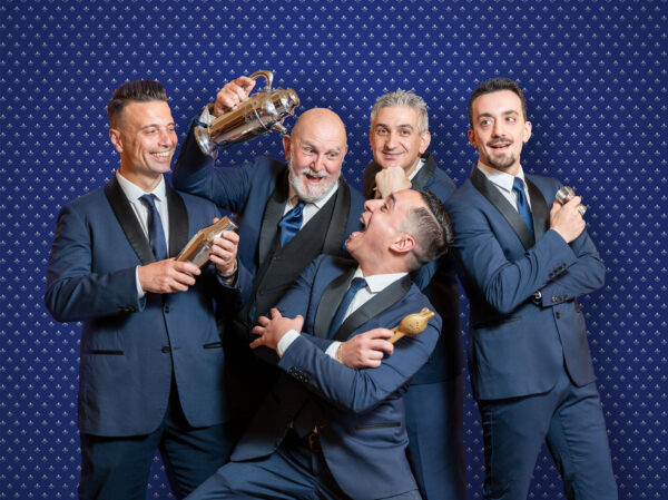 Luca Picchi, Davide Sarallo, Salvatore Gubello, Donato Lemme e Giuseppe Raimondo